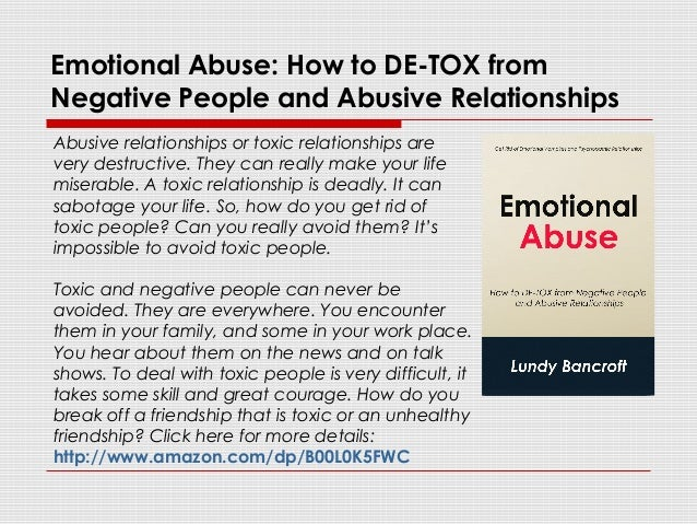 Signs Of Verbal Abuse In A Marriage