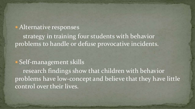 Classroom Design For Students With Emotional And Behavioral Disorders : Emotional and behavioral disorder