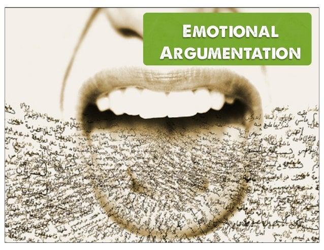 Emotional Argumentation