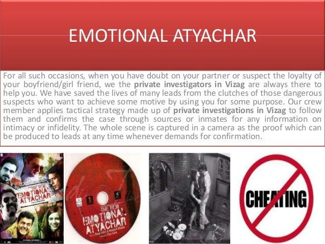 Emotional atyachar