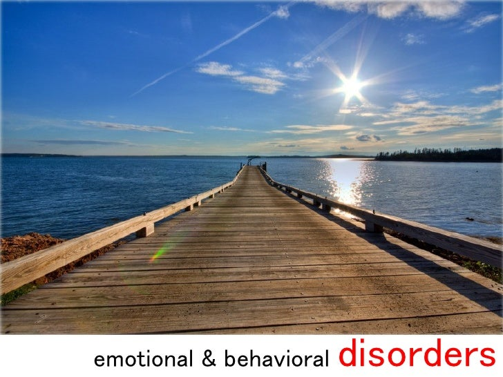 emotional & behavioral   disorders