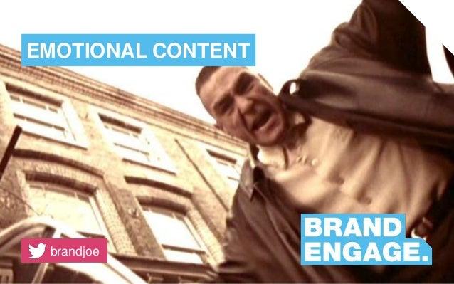 Emotional content marketing