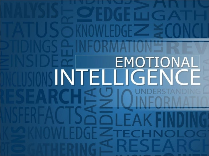 emotion emotional intelligence paper research Emotional intelligence (eq or ei) is a term created by two researchers – peter  salavoy  in practical terms, this means being aware that emotions can drive our .