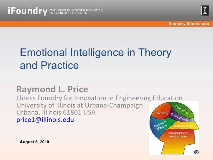 Raymond L. Price Illinois Foundry for Innovation in Engineering Education  University of Illinois at Urbana-Champaign Urba...