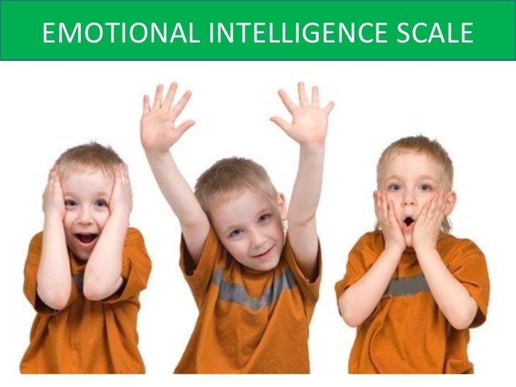 Emotional Scale Emotional Intelligence Scale