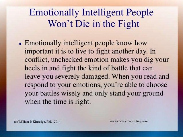 Emotional intelligence phd thesis