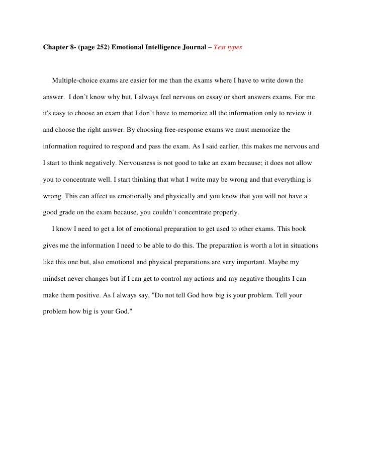 How do you write a journal entry essay?