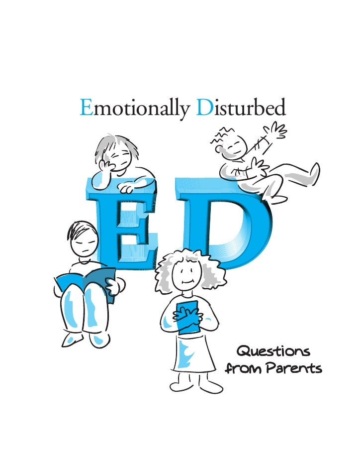Parent Information on Emotional Disturbance