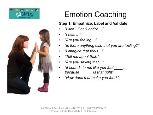 Emotion Coaching Presentation 27422749 on Language Emotions