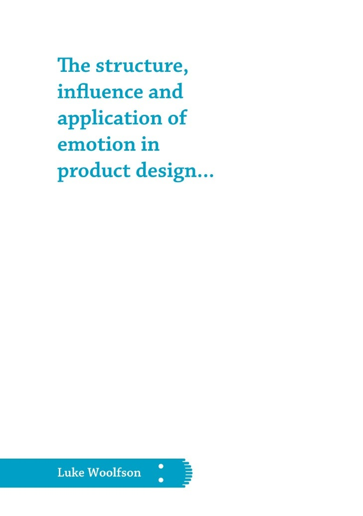 Emotion In Product Design