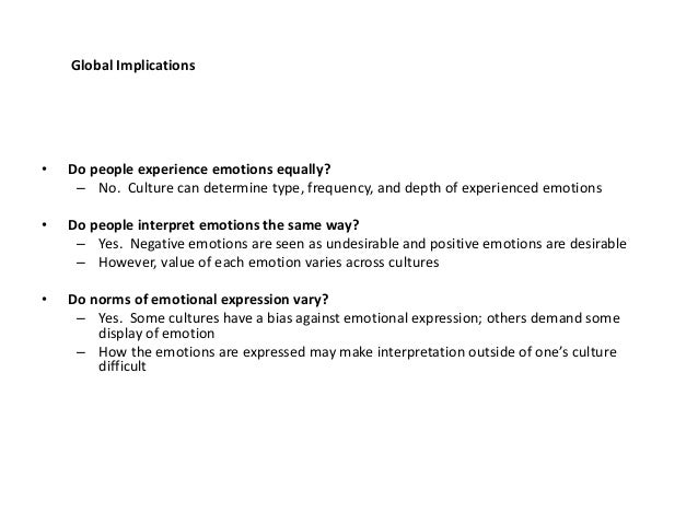 Research paper on emotions.?