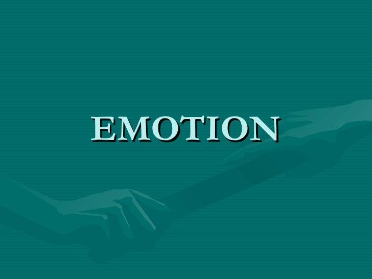 Emotion&stress,Psychology