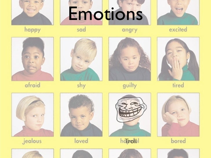 Emotions 1: Introduction to rage faces
