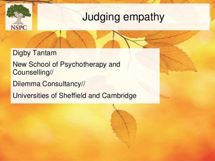 Empathy northampton 30 nov 2011