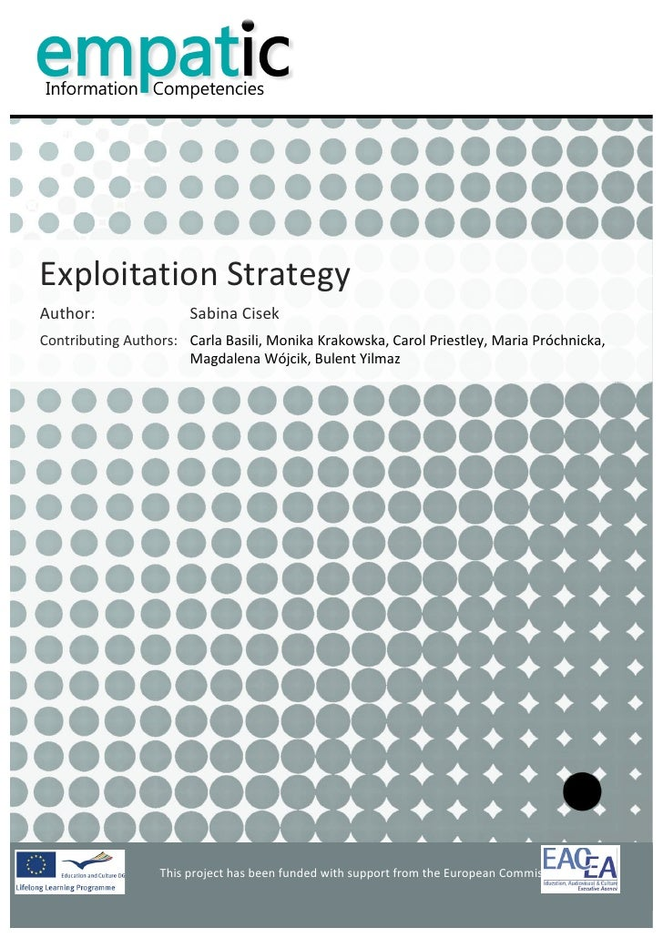 EMPATIC - Exploitation Strategy