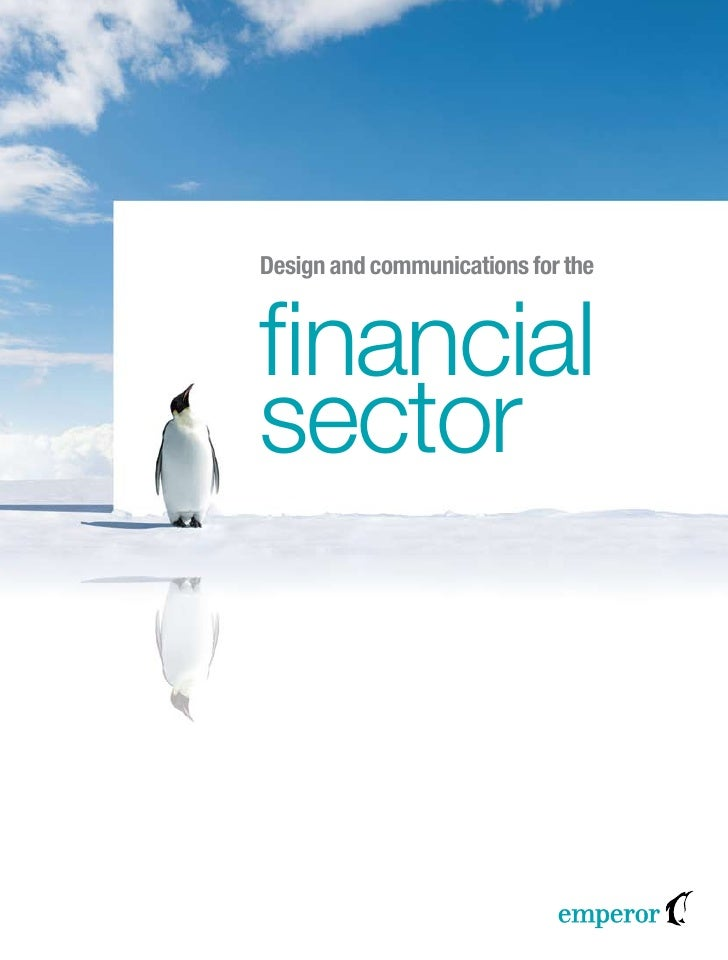 Design and communications for thefinancialsector