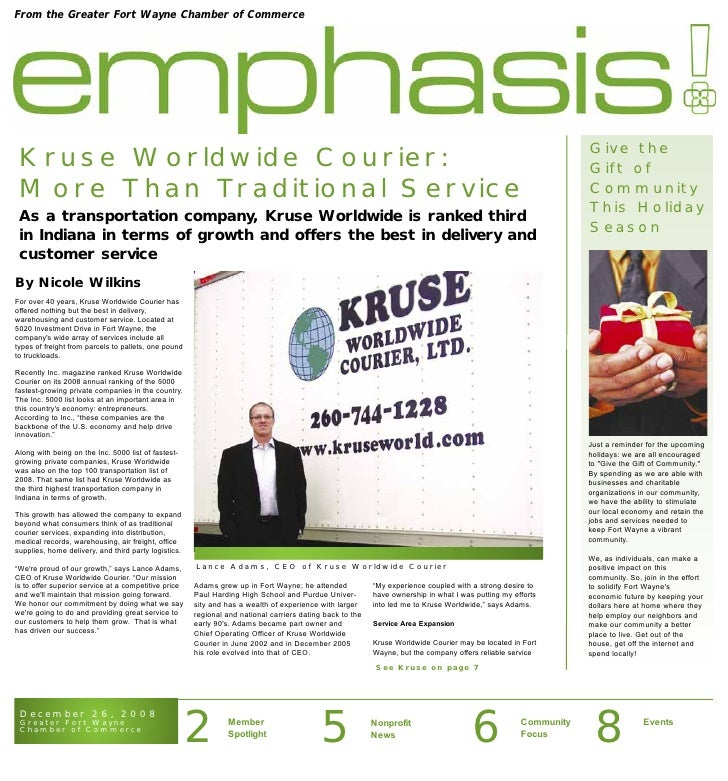 Emphasis Newsletter