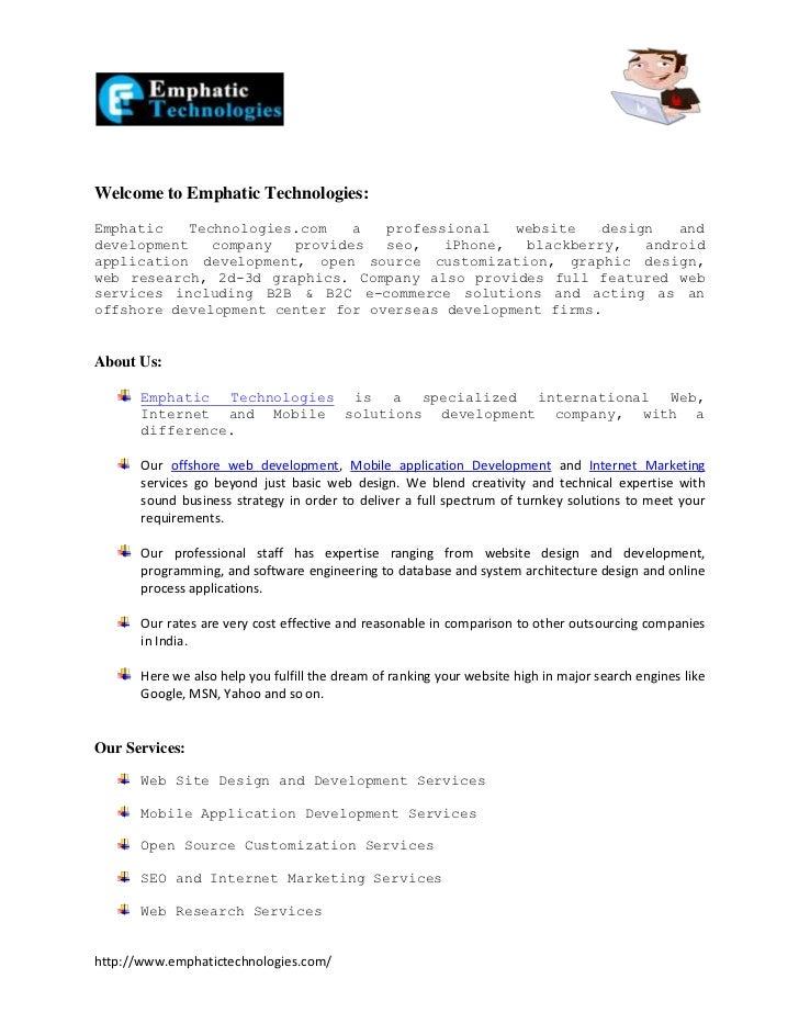 Web Design Company India, Web Design Web Development