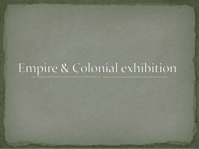 The French Empire & colonial exhibition of 1931