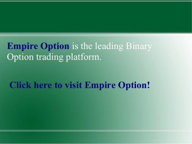 Empire option trading