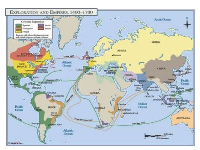 Empires map