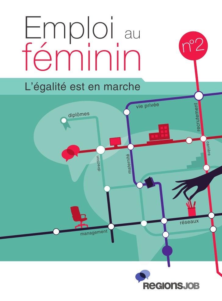 Guide Emploi au féminin : l'égalité est en marche