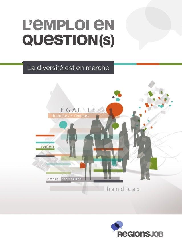 Guide « L'Emploi en Question(s) » de Regionsjob