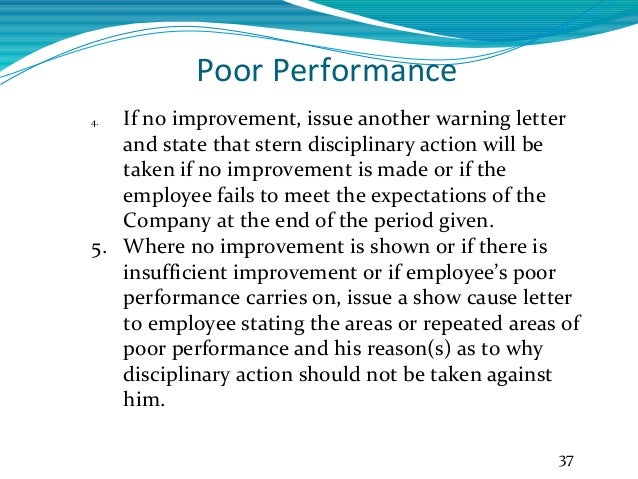 employee poor performance write up Oylekalakaarico