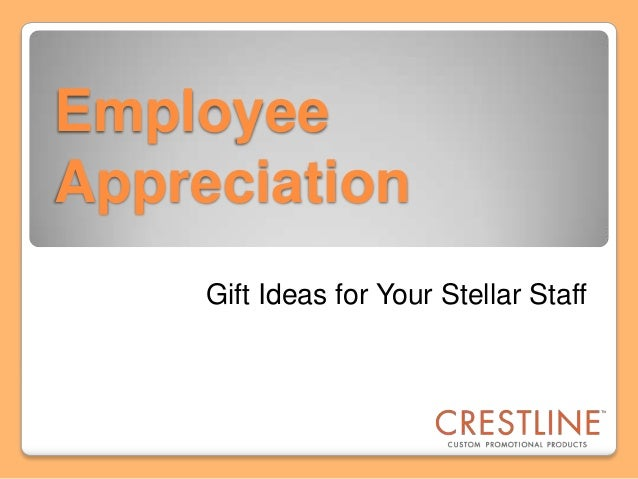 Custom Imprinted Gifts for Employee Appreciation