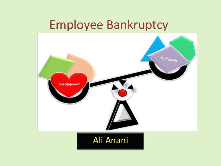 Employee BankruptcyRatio<br />Ali Anani<br />
