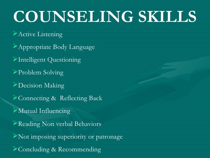 characteristics and behaviors of effective counseling And it takes a commitment to make sometimes difficult changes in behavior or thinking characteristics of effective counseling psych central retrieved on.