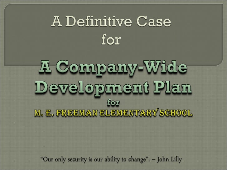Making the Case for Employee Development