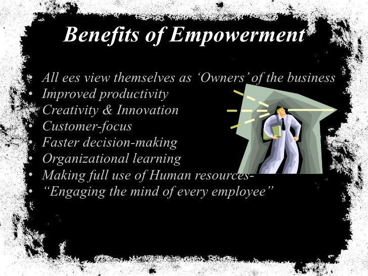 benefits of employee empowerment pdf