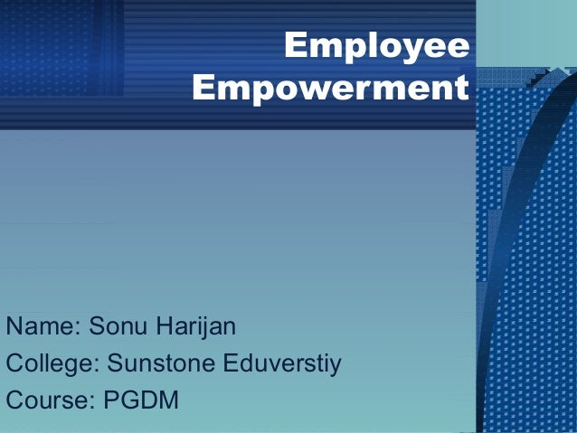 thesis on employee empowerment