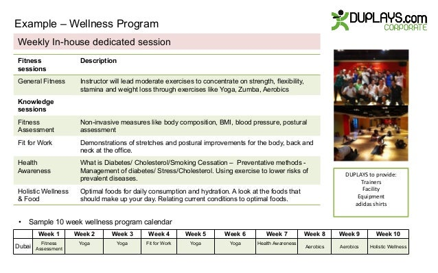 Top Result 60 Awesome Wellness Program Proposal Template Picture