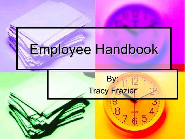 Employee Handbook Power Point