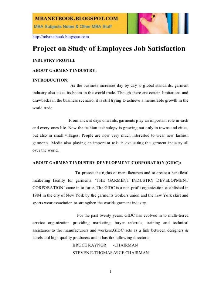 Employee jobsatisfaction