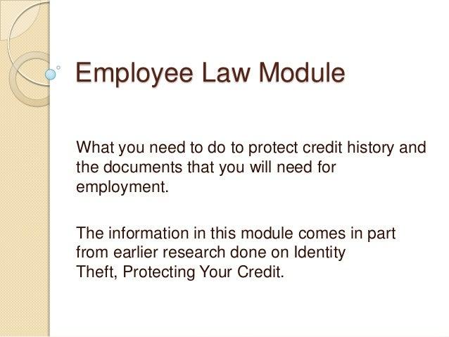 Employee law module