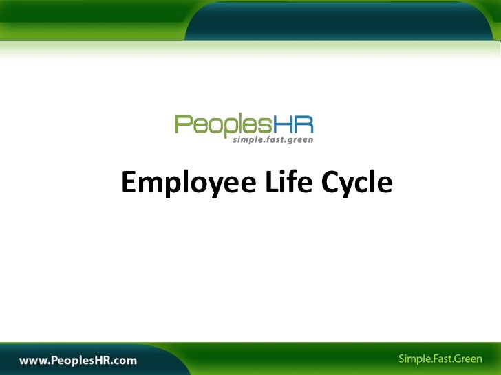 Employee Life Cycle in an Organization Employee Life Cycle Elc What