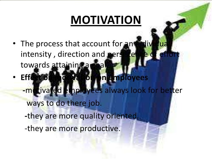 employee motivation What is employee motivation this article describes the fundamental theories of employee motivation, intrinsic and extrinsic motivation.