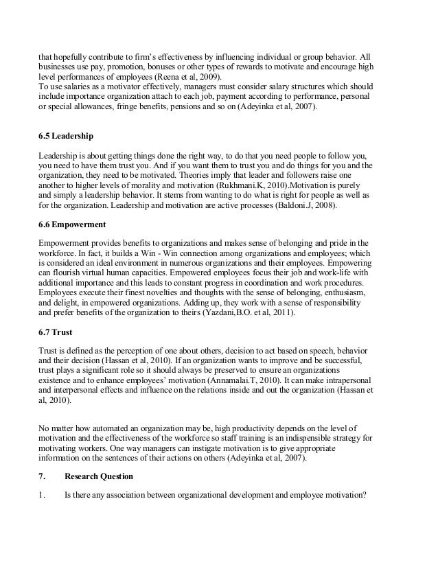 hr project report on employee empowerment Report produced for the ec funded project 11 what is employee involvement and empowerment employee empowerment is a somewhat different concept.