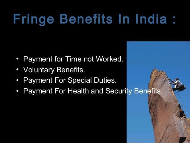 employee fringe benefits