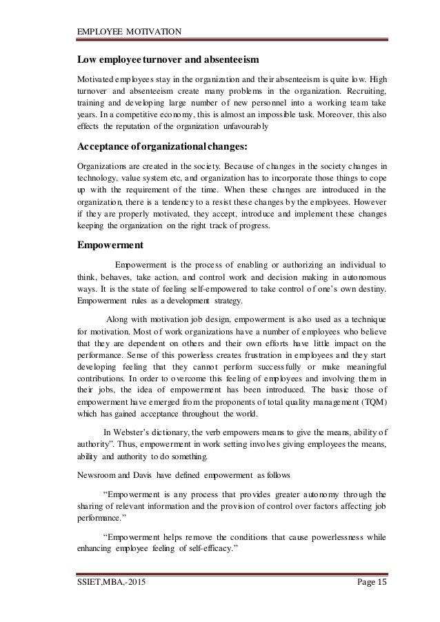 critical literature review on employee motivation Critical thinking - literature review 12831 words | 52 pages more about critical review employee motivation- a powerful new model by nitin nohria, boris groysberg and linda-eling lee critical reviews of brave new world essay example.