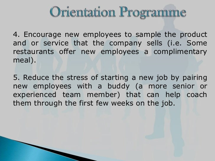 employee orientation programs in dna These 5 ways to improve new employee orientation are perfect ideas for you we are the healthier approach to healthcare recruitment thanks you're all set.