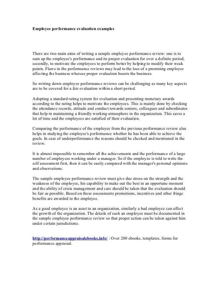 Personal self assessment essay