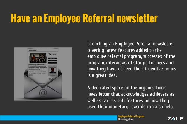 resume cover letter employee referral