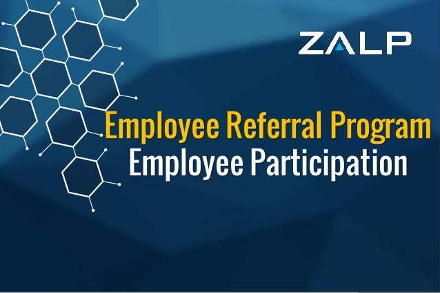 Employee ReferralProgram BrandingIdeas Employee Referral Program Employee Participation