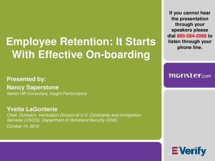 hiring and retention policy and practices