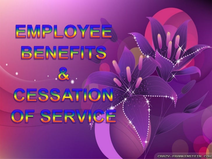 OBJECTIVESAt the end of the report, learners are expected to:            1. Determine the employees' benefits and         ...