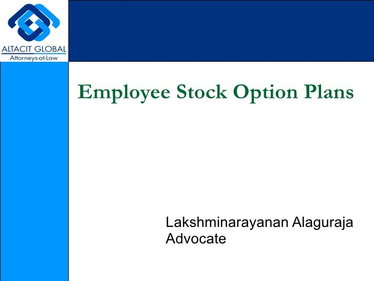 Employee stock options kpmg
